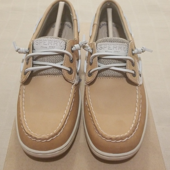Sperry Shoes | Rosefish Linen Oat Boat